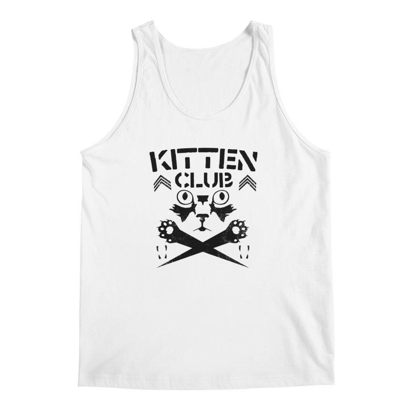 Kitten Club Black Men's Regular Tank by Stevie Richards Artist Shop