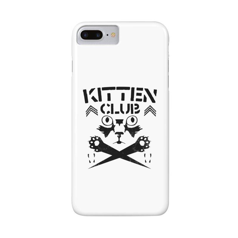 Kitten Club Black Accessories Phone Case by Stevie Richards Artist Shop