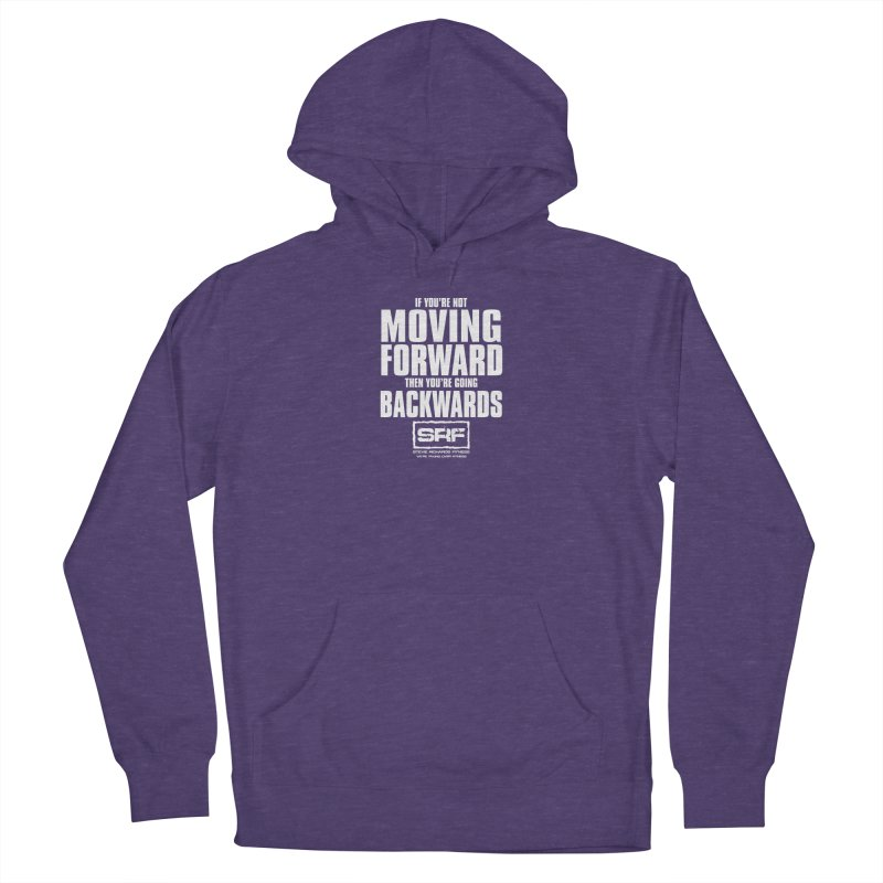 Moving Forwards Women's French Terry Pullover Hoody by Stevie Richards Artist Shop
