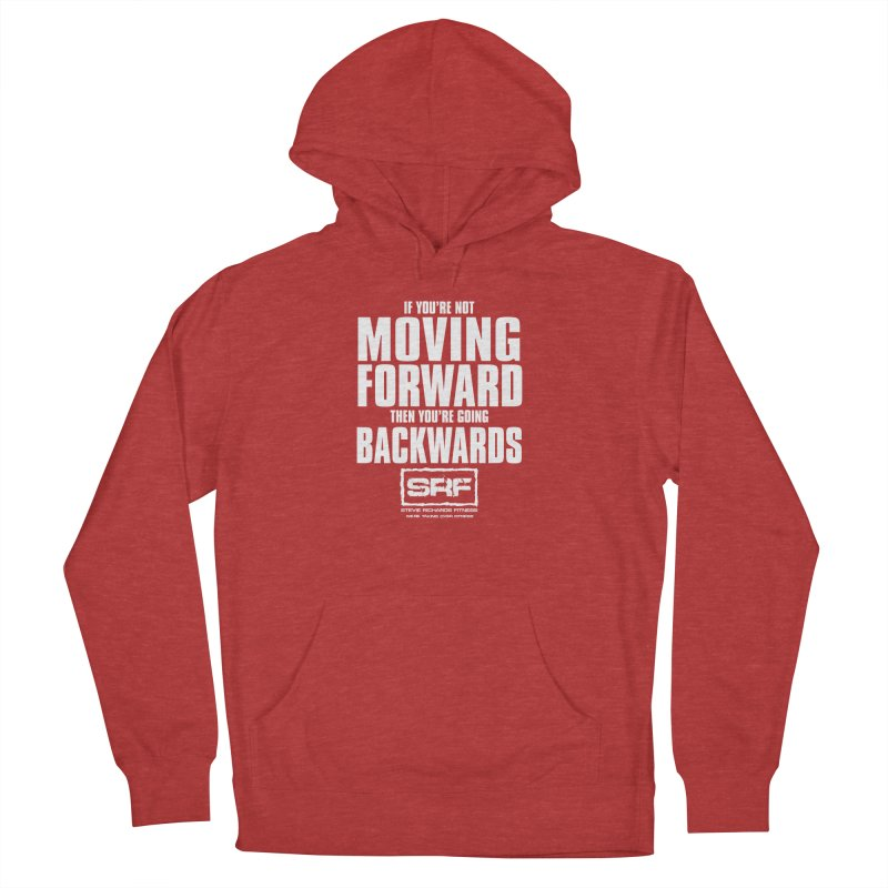 Moving Forwards Men's French Terry Pullover Hoody by Stevie Richards Artist Shop