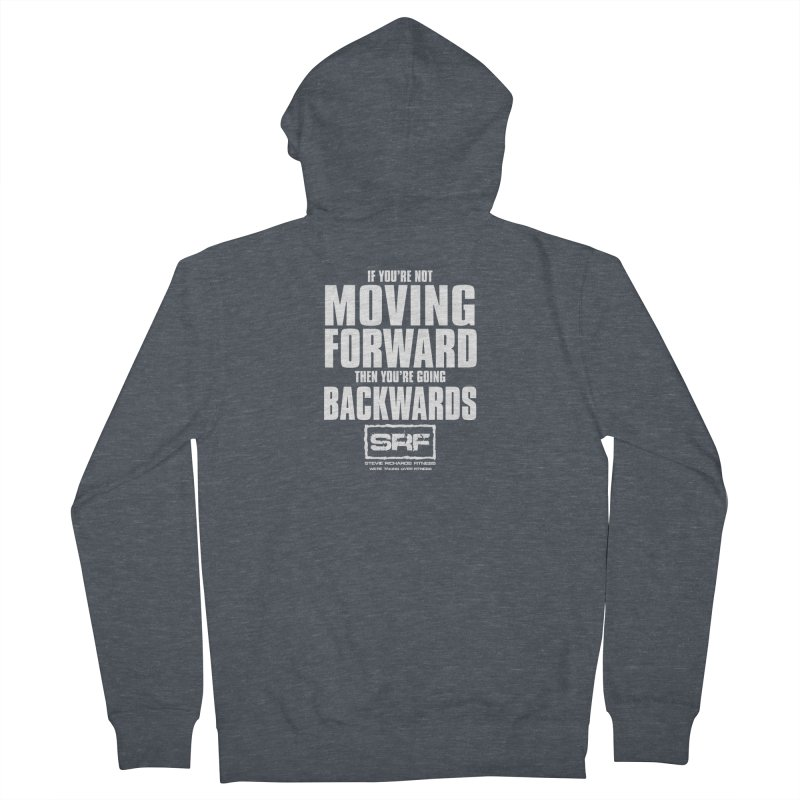 Moving Forwards Women's French Terry Zip-Up Hoody by Stevie Richards Artist Shop