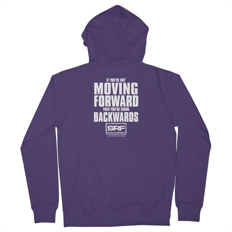 Moving Forwards Women's Zip-Up Hoody by Stevie Richards Artist Shop