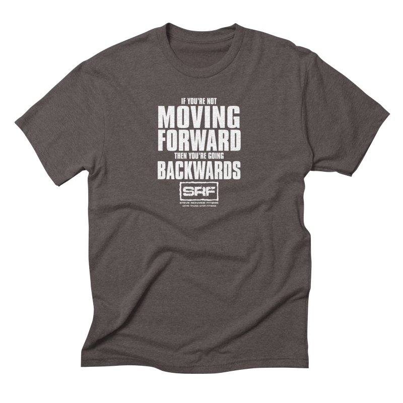 Moving Forwards Men's Triblend T-shirt by Stevie Richards Artist Shop