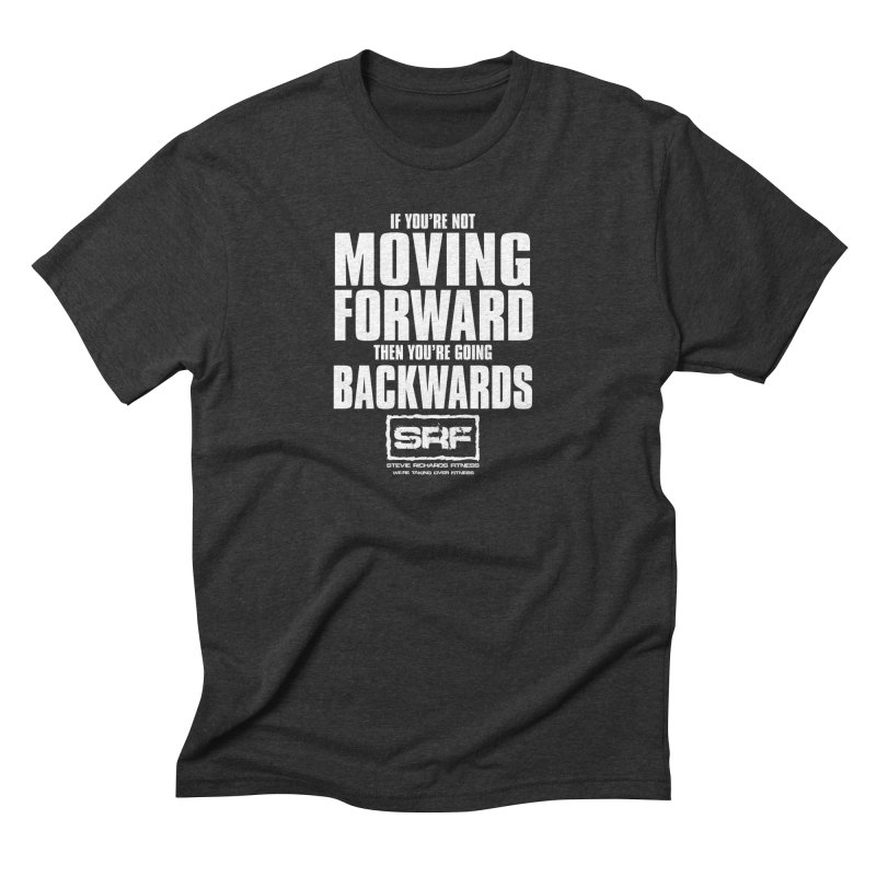 Moving Forwards Men's Triblend T-shirt by Stevie Richards Artist Shop