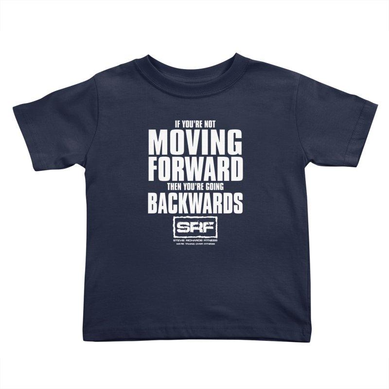 Moving Forwards Kids Toddler T-Shirt by Stevie Richards Artist Shop