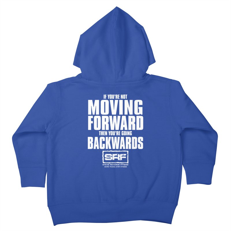 Moving Forwards Kids Toddler Zip-Up Hoody by Stevie Richards Artist Shop