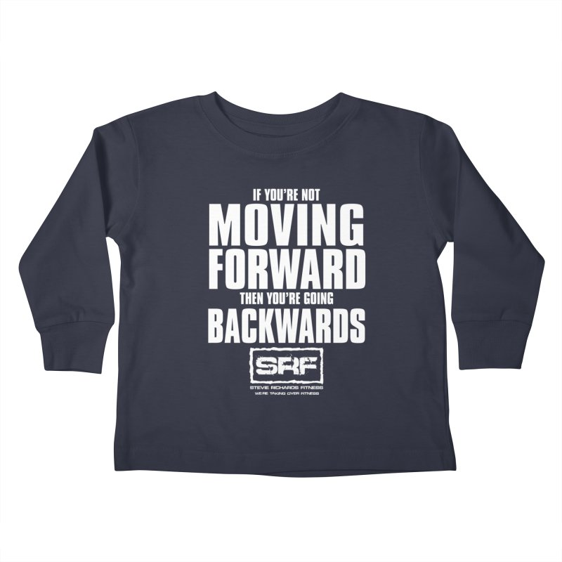 Moving Forwards Kids Toddler Longsleeve T-Shirt by Stevie Richards Artist Shop