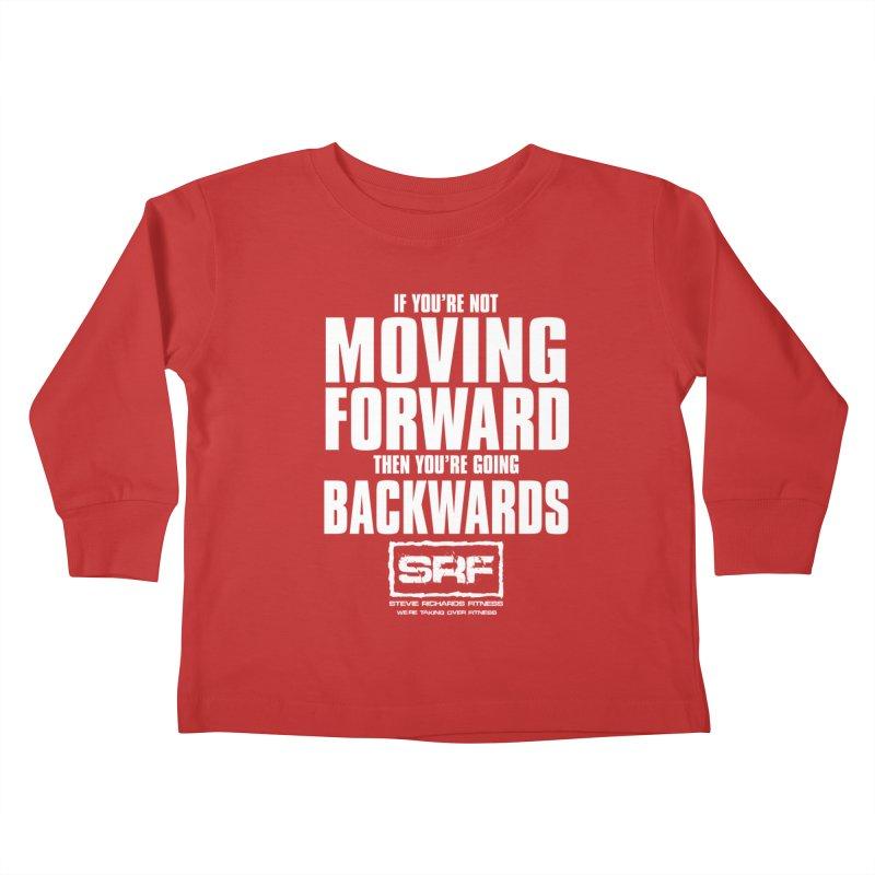 Moving Forwards Kids Toddler Longsleeve T-Shirt by Stevie Richards Artist Shop