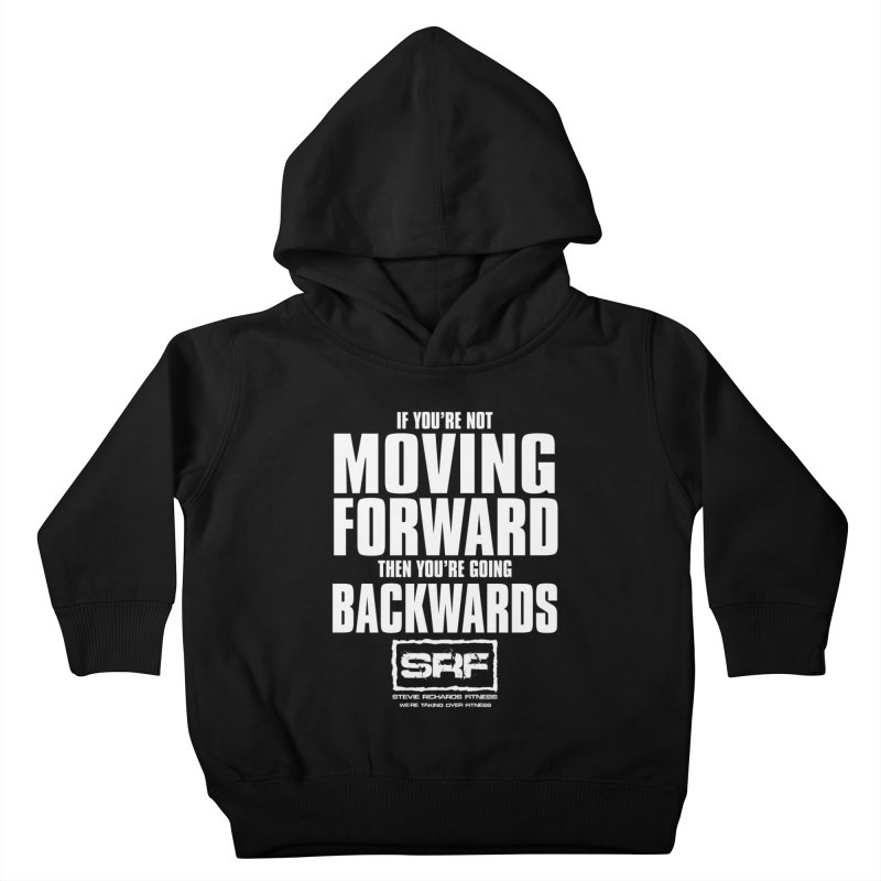 Moving Forwards Kids Toddler Pullover Hoody by Stevie Richards Artist Shop