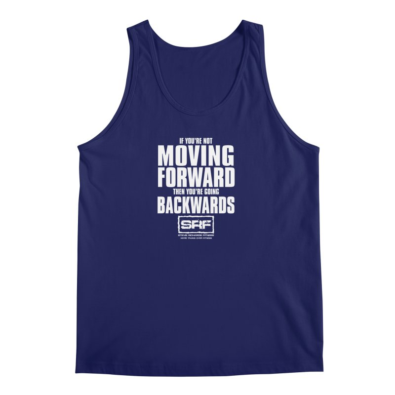 Moving Forwards Men's Regular Tank by Stevie Richards Artist Shop