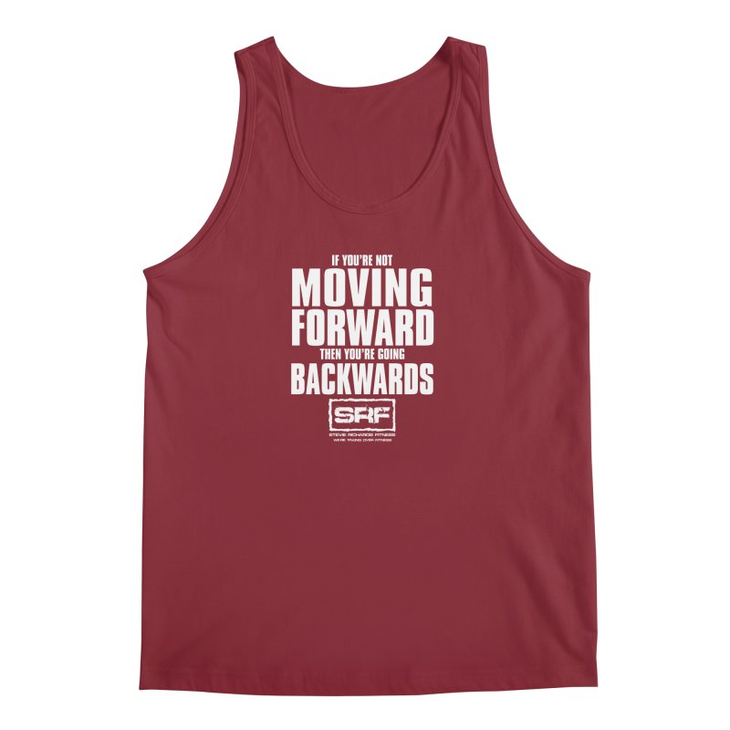 Moving Forwards Men's Tank by Stevie Richards Artist Shop