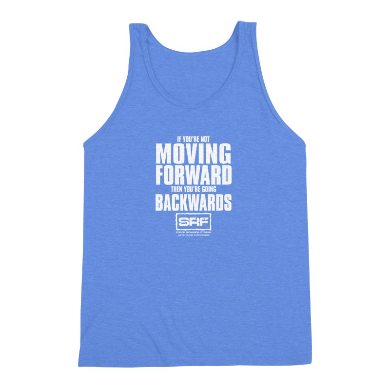 Moving Forwards Men's Triblend Tank by Stevie Richards Artist Shop