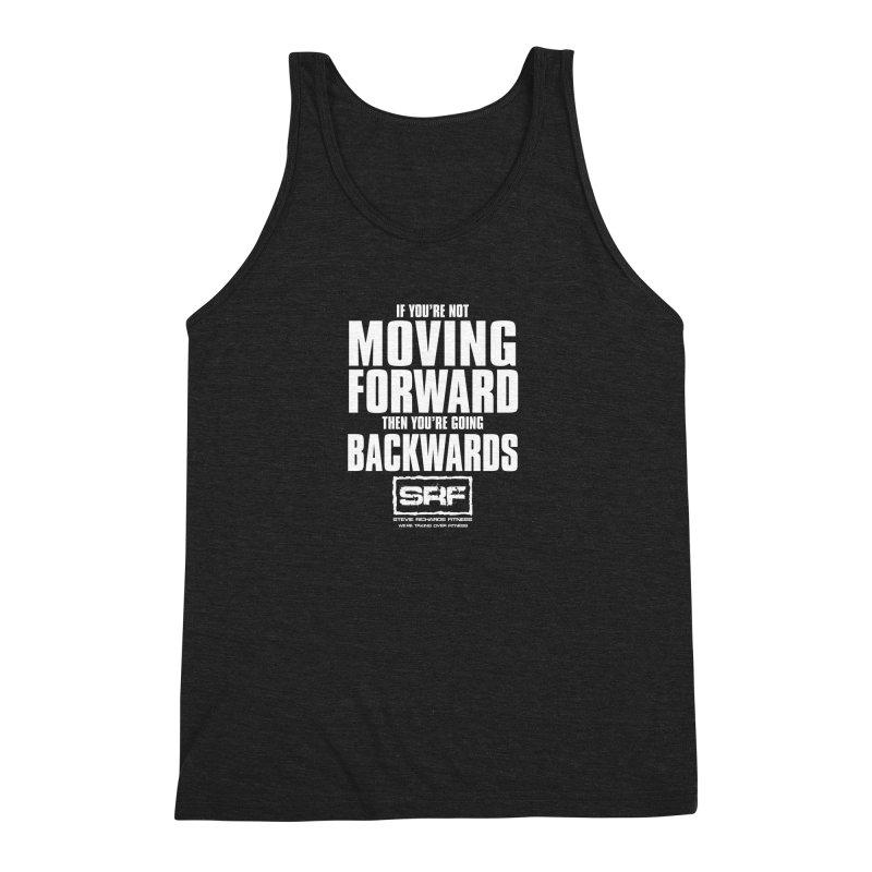Moving Forwards Men's Triblend Tank by Stevie Richards Artist Shop