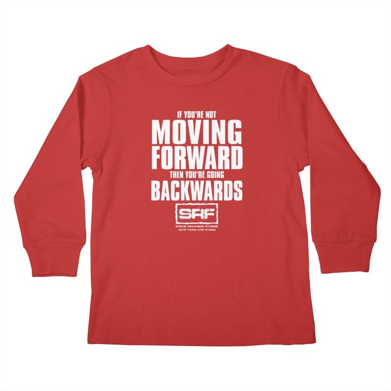 Moving Forwards Kids Longsleeve T-Shirt by Stevie Richards Artist Shop