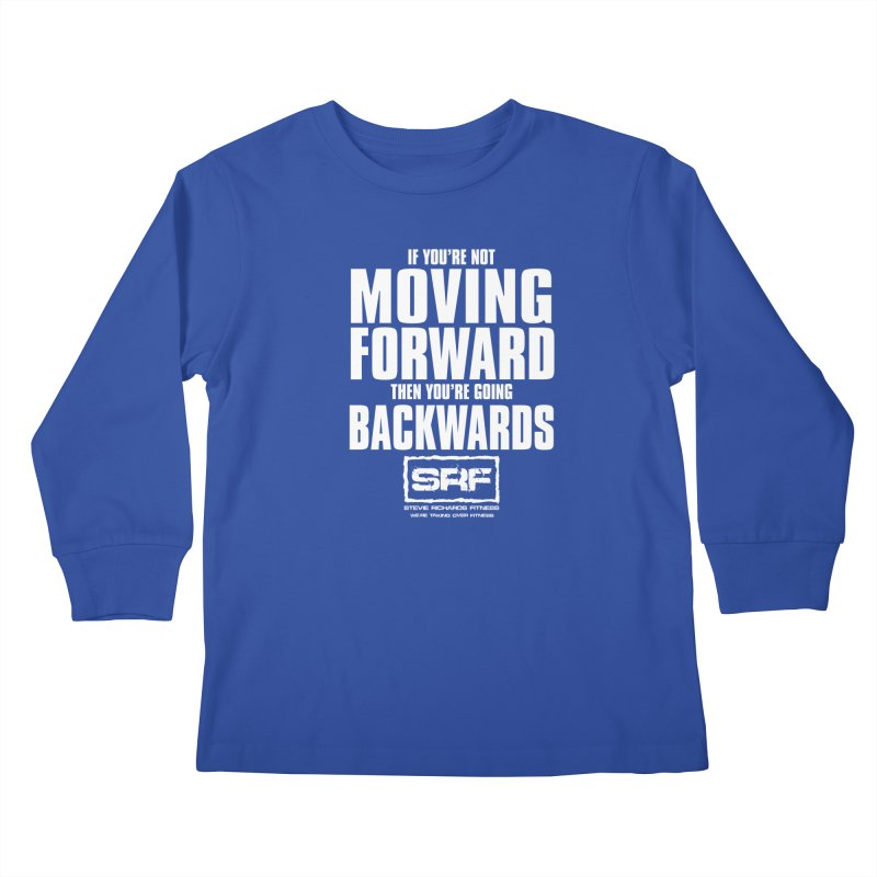 Moving Forwards Kids Longsleeve T-Shirt by Stevie Richards Artist Shop