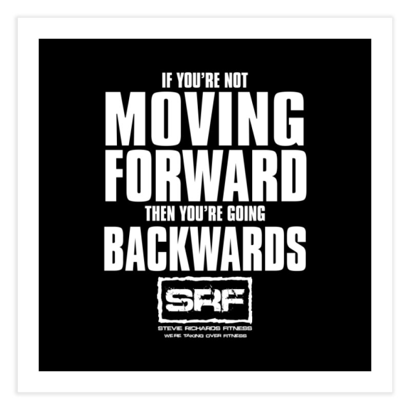 Moving Forwards Home Fine Art Print by Stevie Richards Artist Shop