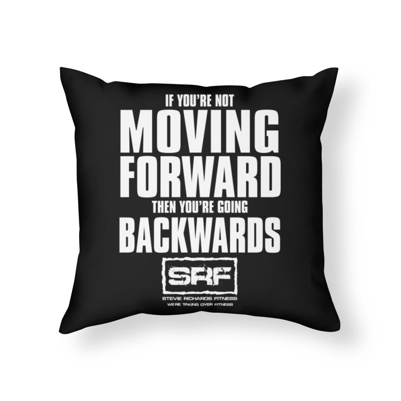 Moving Forwards Home Throw Pillow by Stevie Richards Artist Shop
