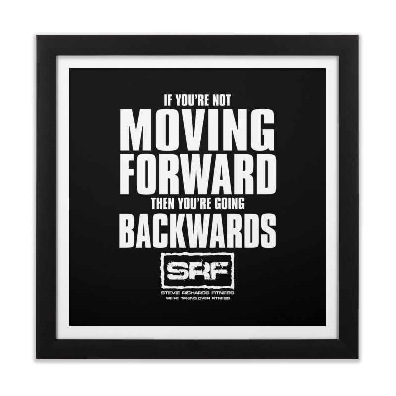 Moving Forwards Home Framed Fine Art Print by Stevie Richards Artist Shop