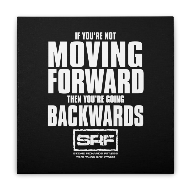 Moving Forwards Home Stretched Canvas by Stevie Richards Artist Shop