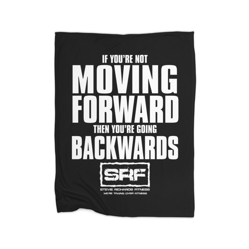 Moving Forwards Home Fleece Blanket Blanket by Stevie Richards Artist Shop