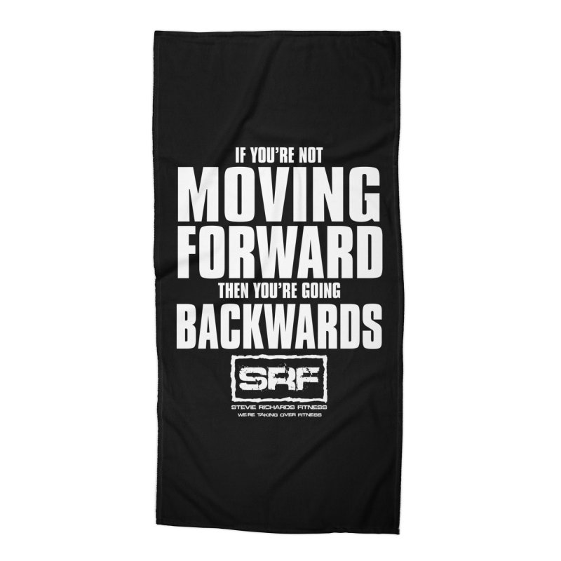 Moving Forwards Accessories Beach Towel by Stevie Richards Artist Shop