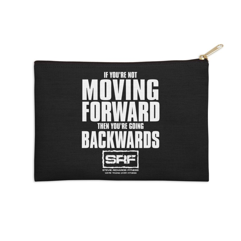 Moving Forwards Accessories Zip Pouch by Stevie Richards Artist Shop