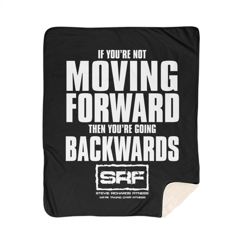 Moving Forwards Home Sherpa Blanket Blanket by Stevie Richards Artist Shop