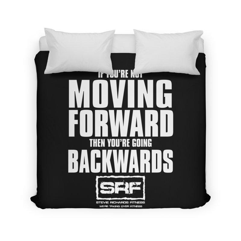Moving Forwards Home Duvet by Stevie Richards Artist Shop