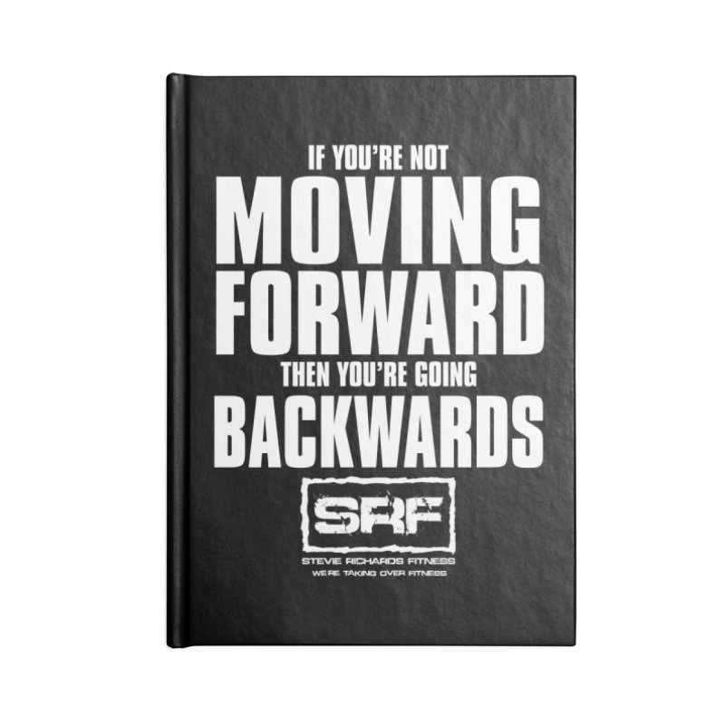 Moving Forwards Accessories Blank Journal Notebook by Stevie Richards Artist Shop