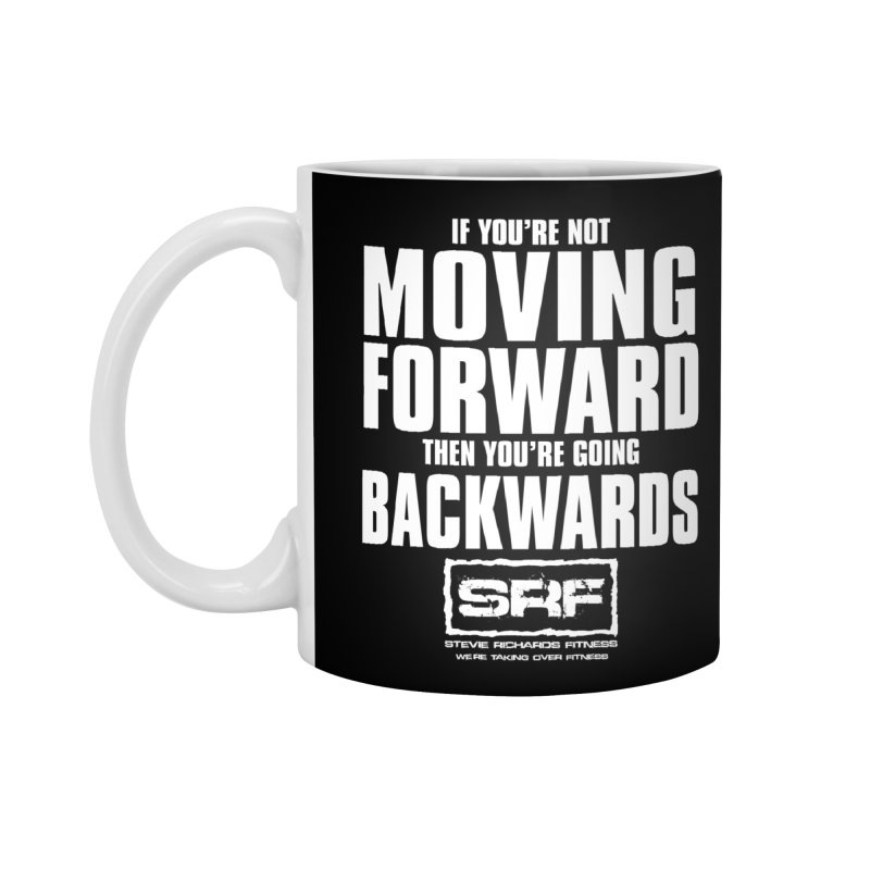 Moving Forwards Accessories Mug by Stevie Richards Artist Shop