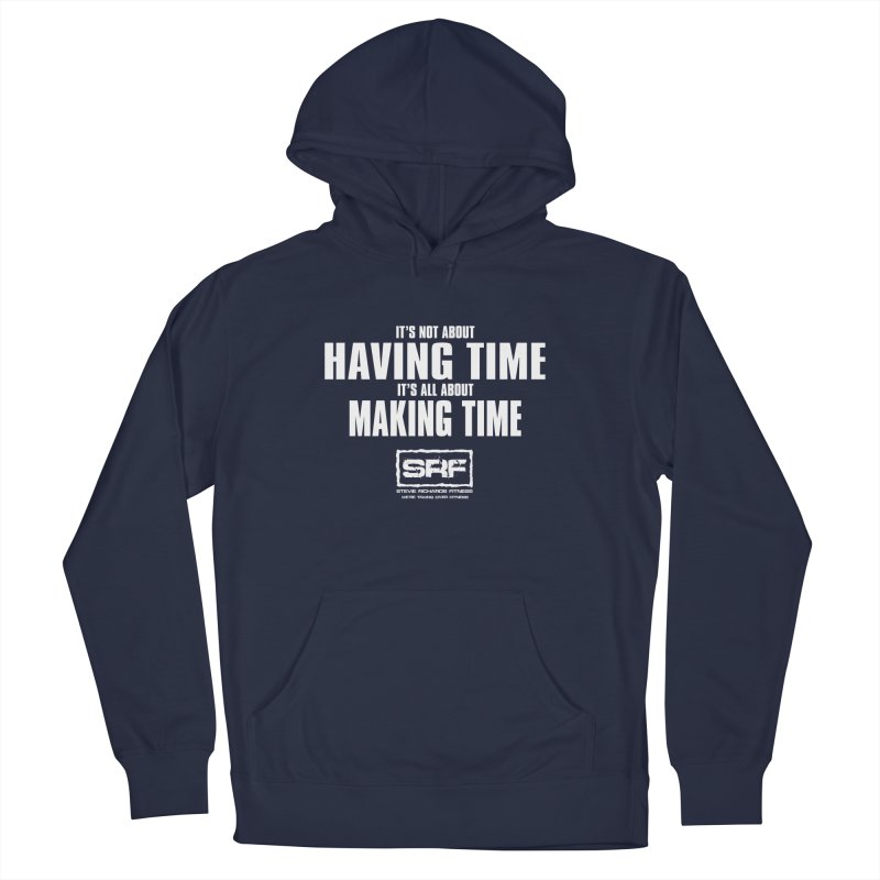 Make the time Men's Pullover Hoody by Stevie Richards Artist Shop