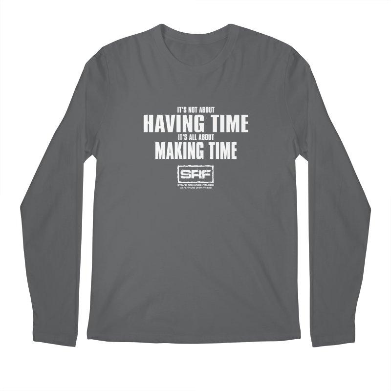 Make the time Men's Regular Longsleeve T-Shirt by Stevie Richards Artist Shop