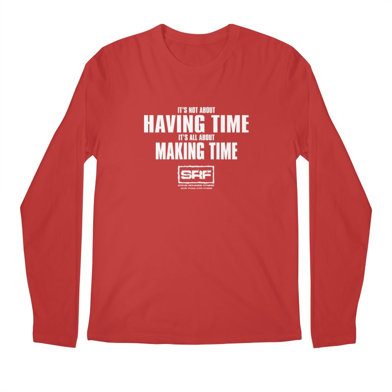 Make the time Men's Regular Longsleeve T-Shirt by Stevie Richards Artist Shop