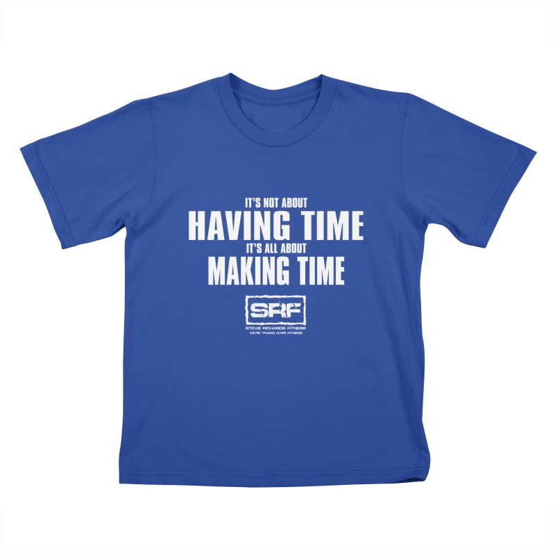 Make the time Kids T-Shirt by Stevie Richards Artist Shop