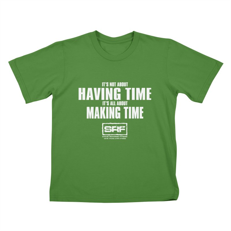 Make the time Kids T-Shirt by Stevie Richards Artist Shop