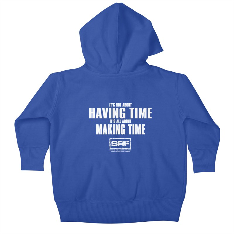 Make the time Kids Baby Zip-Up Hoody by Stevie Richards Artist Shop