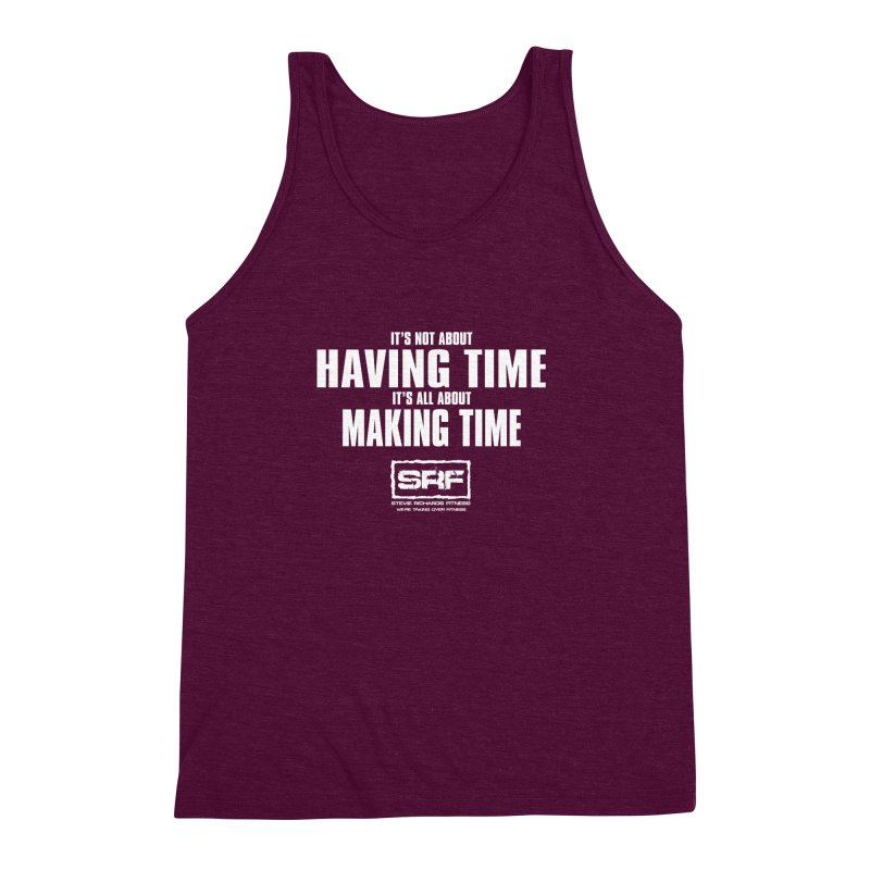 Make the time Men's Triblend Tank by Stevie Richards Artist Shop