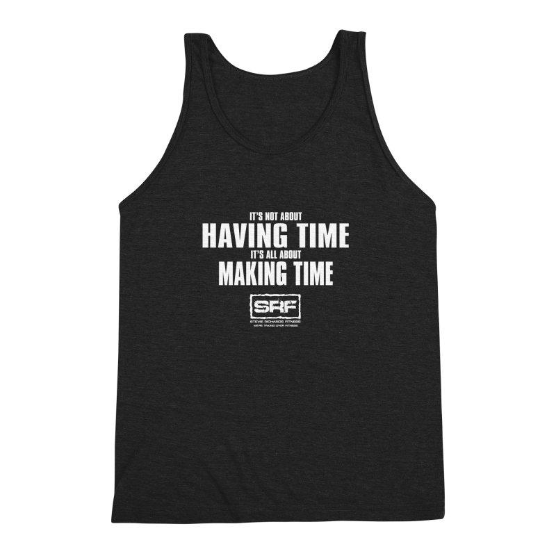 Make the time Men's Triblend Tank by Stevie Richards Artist Shop