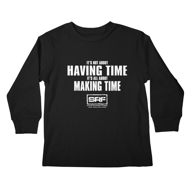 Make the time Kids Longsleeve T-Shirt by Stevie Richards Artist Shop
