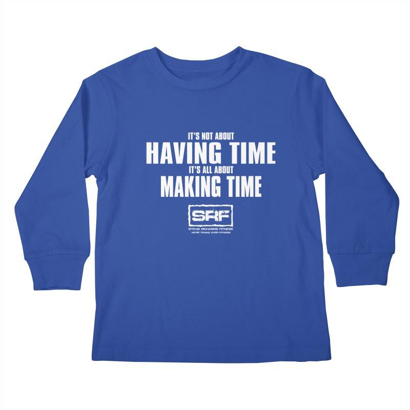 Make the time Kids Longsleeve T-Shirt by Stevie Richards Artist Shop