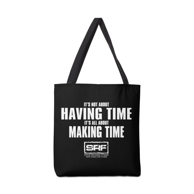 Make the time Accessories Bag by Stevie Richards Artist Shop
