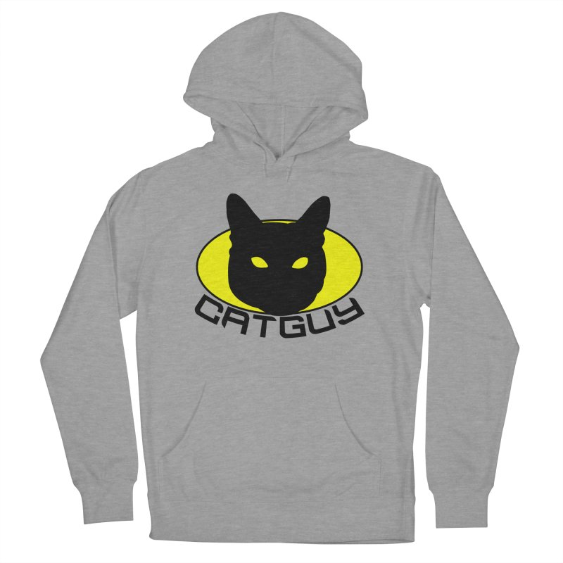 CAT-GUY! Women's French Terry Pullover Hoody by Stevie Richards Artist Shop