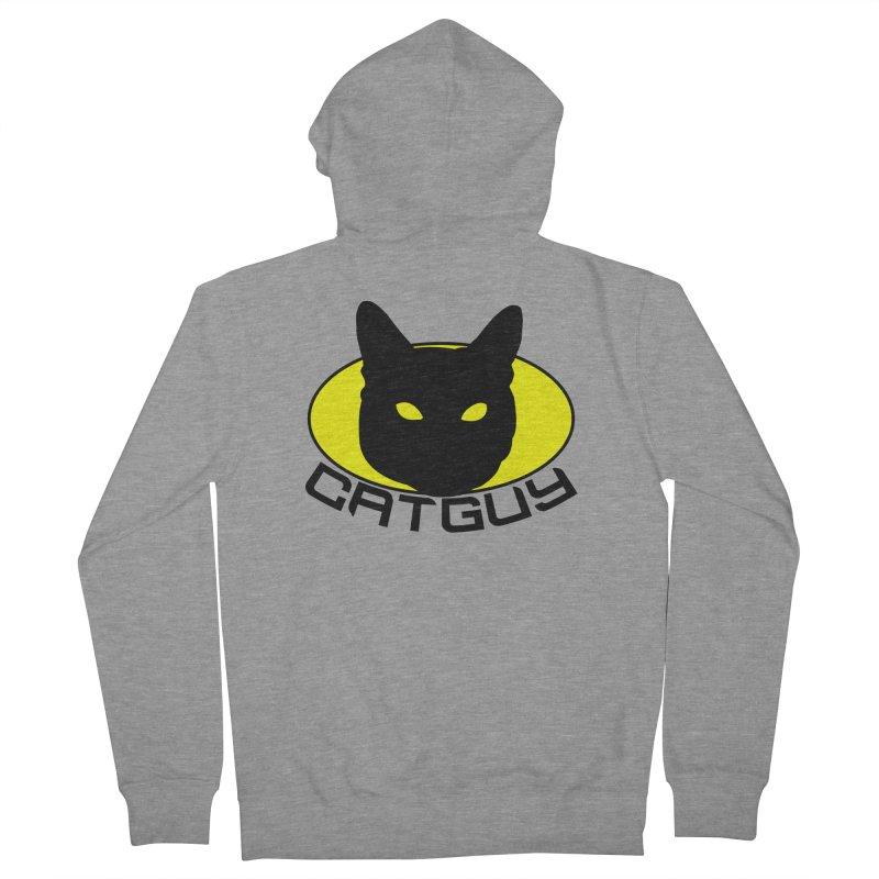 CAT-GUY! Women's Zip-Up Hoody by Stevie Richards Artist Shop