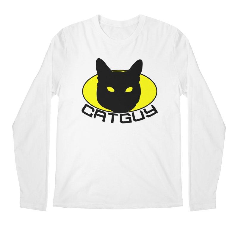 CAT-GUY! Men's Regular Longsleeve T-Shirt by Stevie Richards Artist Shop