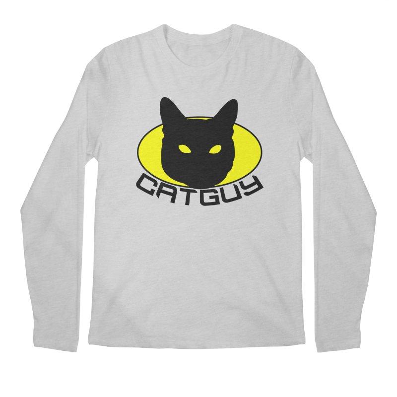 CAT-GUY! Men's Longsleeve T-Shirt by Stevie Richards Artist Shop