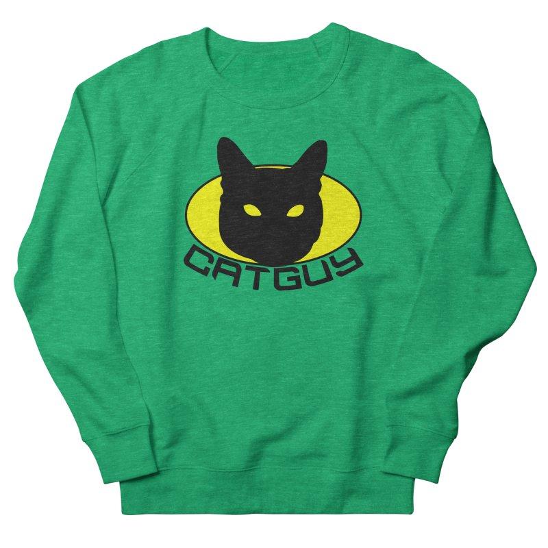 CAT-GUY! Women's Sweatshirt by Stevie Richards Artist Shop