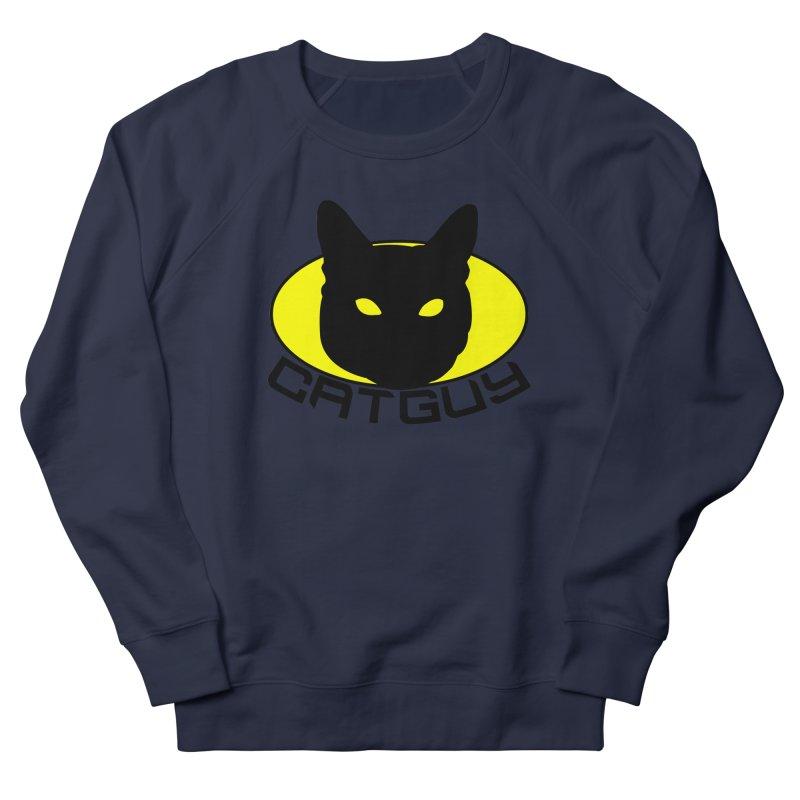 CAT-GUY! Men's Sweatshirt by Stevie Richards Artist Shop