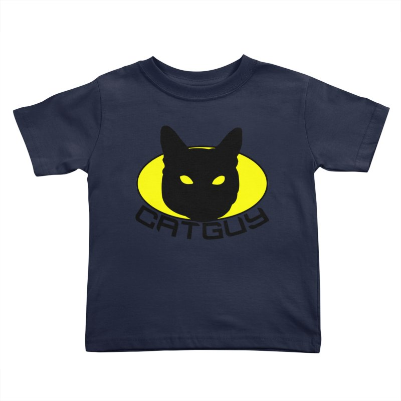 CAT-GUY! Kids Toddler T-Shirt by Stevie Richards Artist Shop