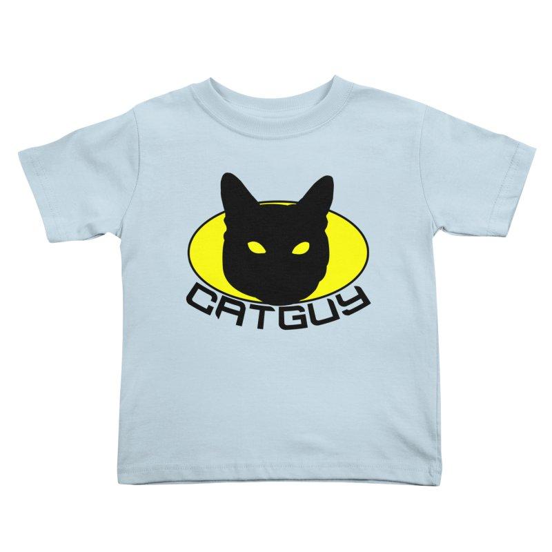 CAT-GUY! Kids Toddler T-Shirt by Stevie Richards Artist Shop