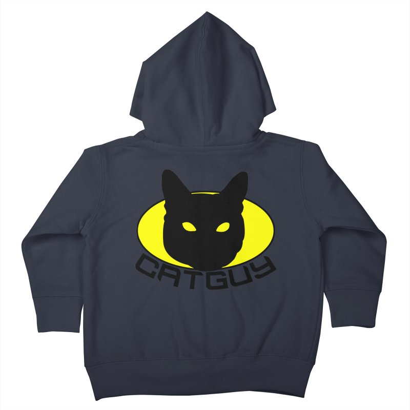CAT-GUY! Kids Toddler Zip-Up Hoody by Stevie Richards Artist Shop